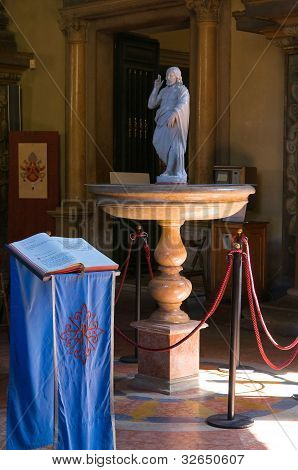 Basilica of St. Mary of Steccata. Parma. Emilia-Romagna. Italy