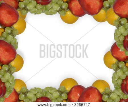 Fresh Fruit Page Border Template