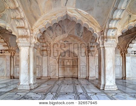 Nagina Masjid - a Mosque for the Palace Ladies, Agra Fort