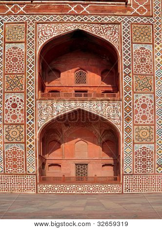 Exquisite Design of Akbar's Tomb