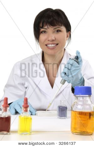 Friendly Scientist, Researcher, Medical Technician