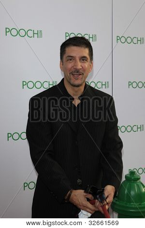 LOS ANGELES, CA - MAY 3: Ken Congemi at the grand opening of the Pooch Hotel on May 3, 2012 in Hollywood, Los Angeles, CA. The Pooch Hotel is billed as a luxury hotel and daycare exclusively for dogs.