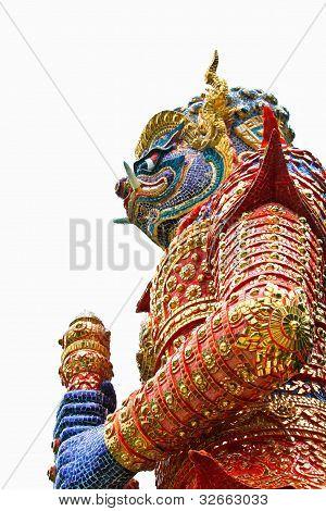 giant symbol, temple