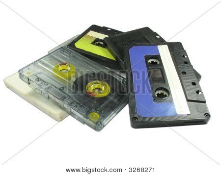 Old Audio Cassettes