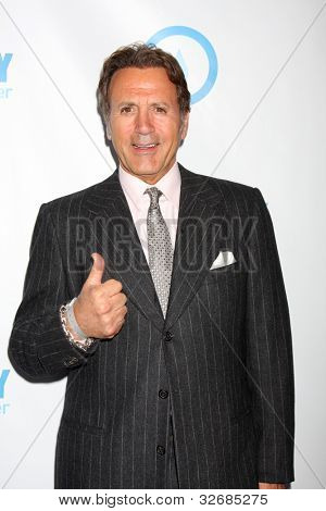 LOS ANGELES - MAY 4:  Frank Stallone arrives at the 4th Annual Night of Generosity Gala Event at Hollywood Roosevelt Hotel on May 4, 2012 in Los Angeles, CA