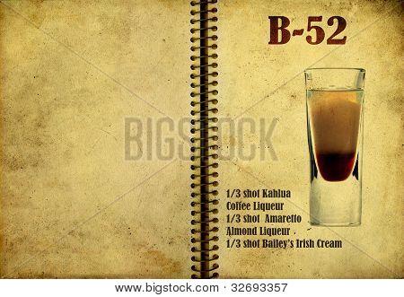 B-52 Recipe