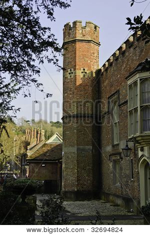 Medieval Building, Winchester, England
