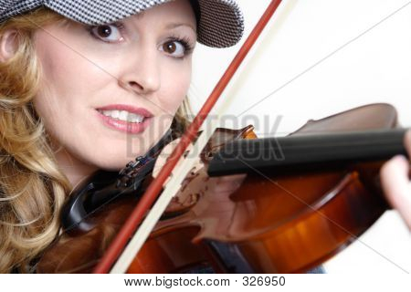Violinista bonita