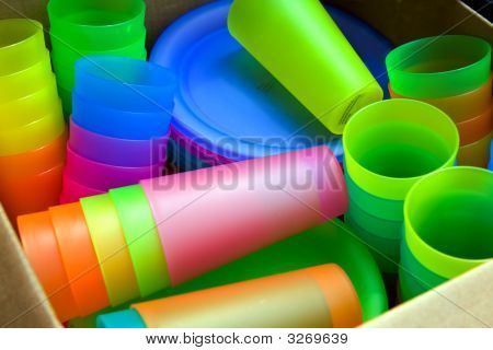Colorful Tumblers