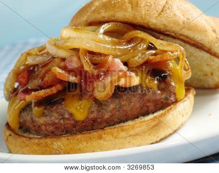 Bacon Bbq Cheeseburger