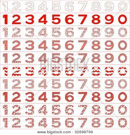 Numbers big set