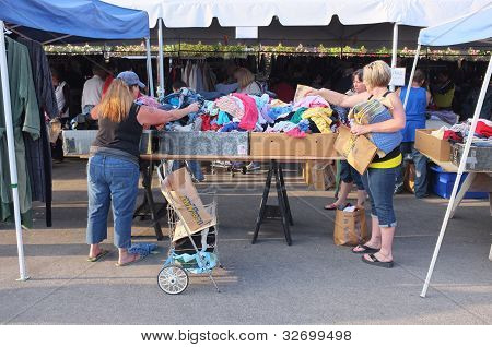 Grande venda de jarda