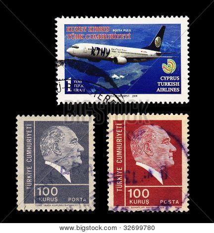 Stamps of Turkey & Northern Cyprus