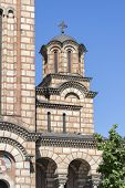 Orthodox Cathedral Church Of Saint Mark In City Of Belgrade, Serbia poster