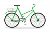Bicycle Transport. Sport Transportation With The Pedal poster