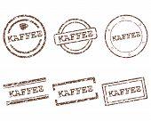 Постер, плакат: Kaffee марки