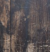 Wooden Boards. It Used To Be Light Wooden Planks, Textured And With Traces Of Fire. Several Nails We poster