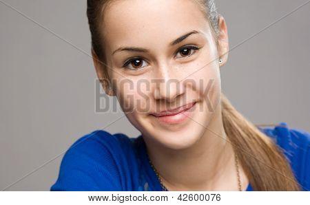 Expressive Teen Portrait.