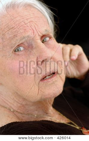 Upset Great Grandmother