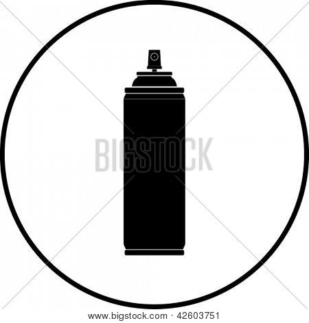 Spray can symbol