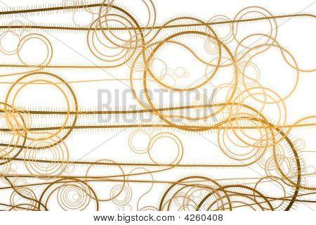 Curving Vegetation Winding Vines