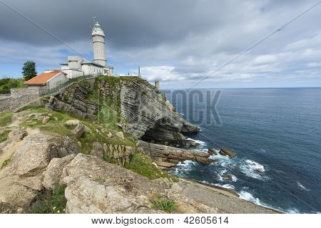 Cabo Mayor Lighthouse, Santander, Cantabria, Spain