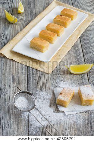 Seven Pieces Of Lemon Cake