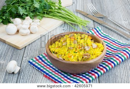 Vegetarian Pilaf