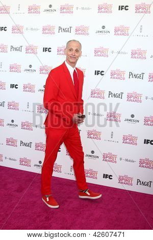 LOS ANGELES - FEB 23:  John Waters attends the 2013 Film Independent Spirit Awards at the Tent on the Beach on February 23, 2013 in Santa Monica, CA