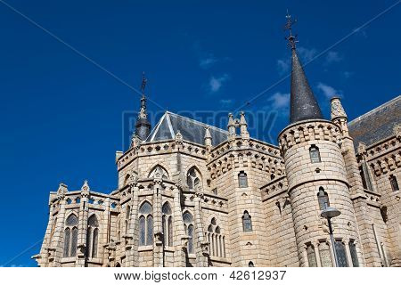 Episcopal Palace, Astorga, Leon, Castilla Y Leon, Spain
