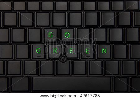 Go Green - Save Energy
