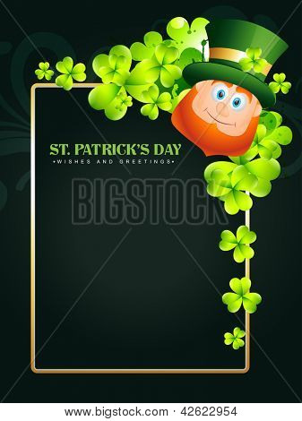 happy saint patricks day vector design