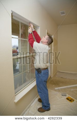 Handy Man Working