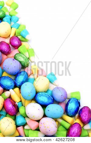 Easter candy border