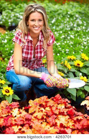 Woman Florist