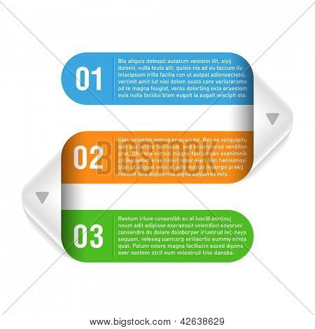 Design template. Part 3. Vector.