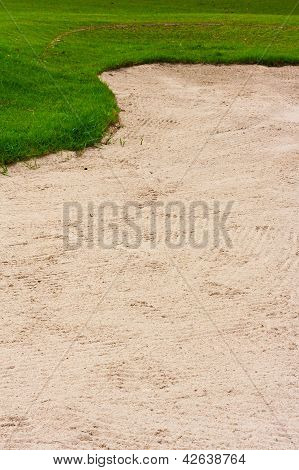 Green And Sand Bunker