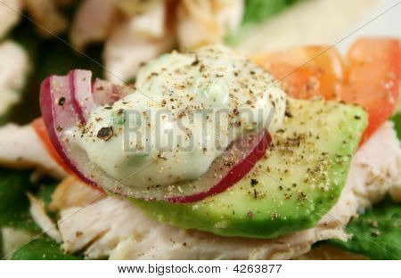 Mayo, Onion And Avocado