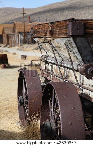 Derelict Cart at Bodie