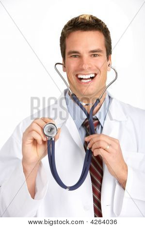 Smiling Medical Doctor