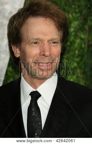 WEST HOLLYWOOD, CA - 24 de fevereiro: Jerry Bruckheimer no Vanity Fair Oscar Party no Sunset Tower em fevereiro