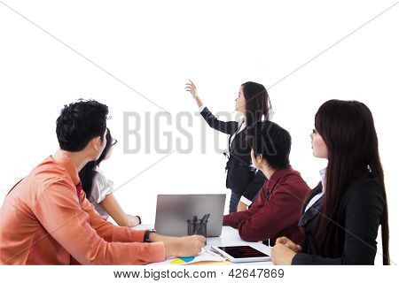 Business Presentation Isolated