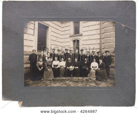 Old Xix Century Photo