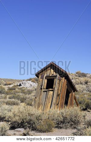Ramshackle Outhouse