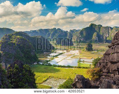Parque Nacional de Tam coc. Vietname