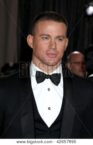 LOS ANGELES - 24 februari: Channing Tatum arriveert in de 85e Academy Awards, de Oscars presenteert op th