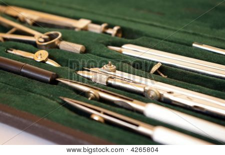 Case Of Drawing Instruments
