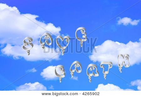 Save Earth Balloons