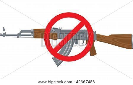 Nenhum fuzil de assalto
