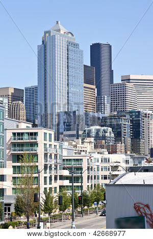 Seattle Skyline Architecture.